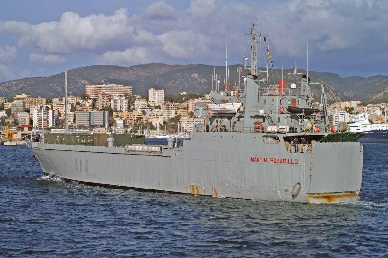 Resultado de imagen para buque martin posadillo