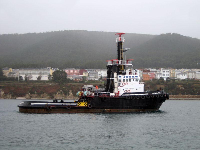 IBAIZABAL TRES - Remolcadores - Compañía de Remolcadores Ibaizábal S. A. -  Remolcador de Altura - Astilleros de Mallorca S. A., nº 204 - Palma de  Mallorca